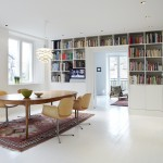 La rénovation d'un appartement par KML design à Copenhague