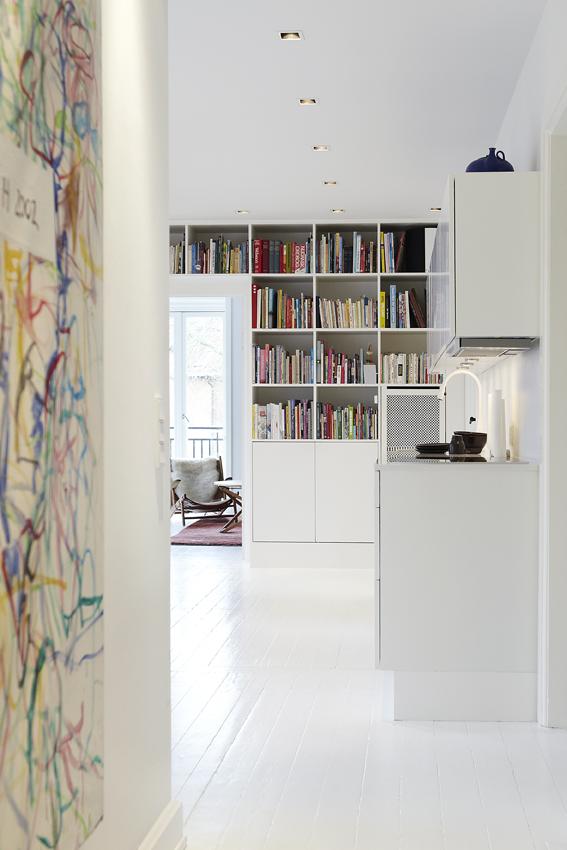 Pernille Jakobsen apartment Copenhaguen    Design Interior KML design