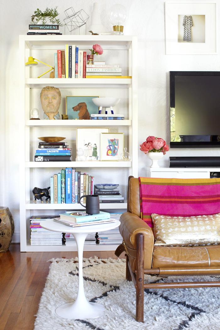 Le nouveau salon d'Emily Henderson : L.A. glamour