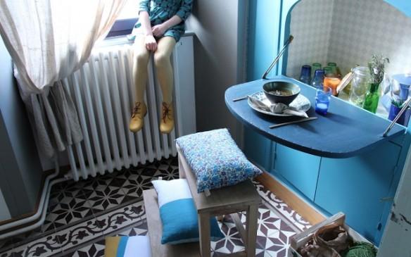 Anne Millet, My mobil home habite une maison très sympa