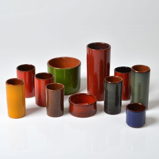 Série de vases