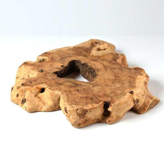 Dessous de plat en écorce d'arbre