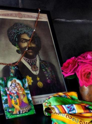 La maison de Jade Jagger à Goa // Chambre en mode bazar chic