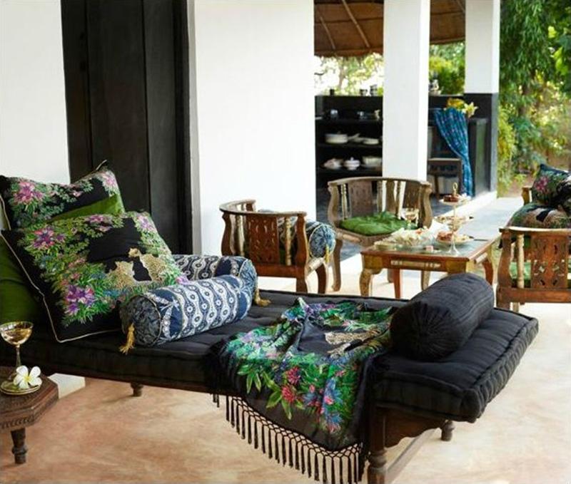 La résidence de Jade Jagger à Goa