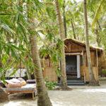 Séquence rêvée avec la maison de Jade Jagger à Goa