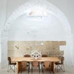Dépouillement brut et meubles design en Italie