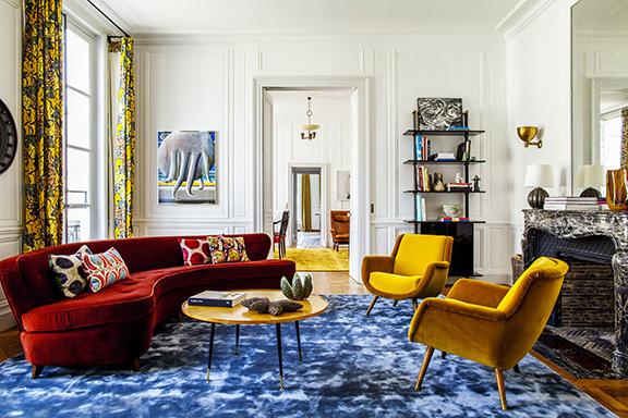 Réalisation de La Place & Co - L'appartement de Cyndie Sherman à Paris