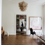 Un appartement comme une galerie d'art contemporain
