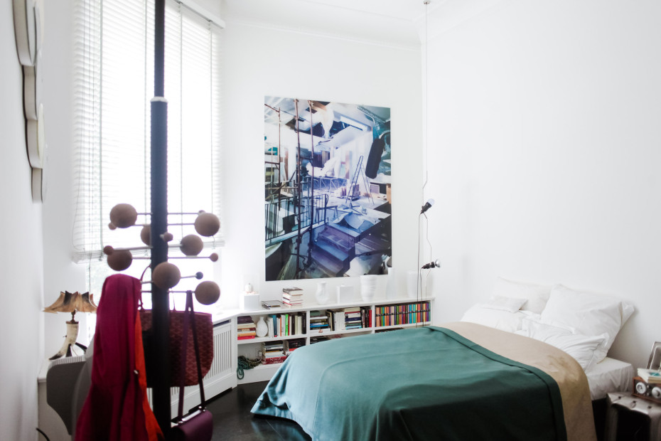 L'appartement comme une galerie d'art contemporain de Karena Schuessler à Berlin