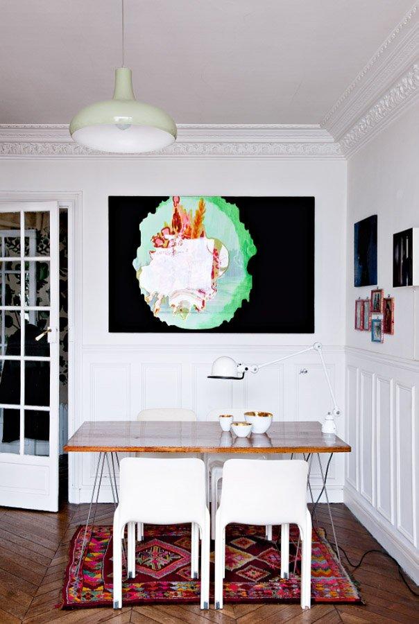 L'appartement parisien de Gabrielle Soyer, designer textile