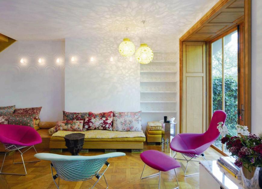 mix and match motifs et couleurs sans charger le d cor. Black Bedroom Furniture Sets. Home Design Ideas