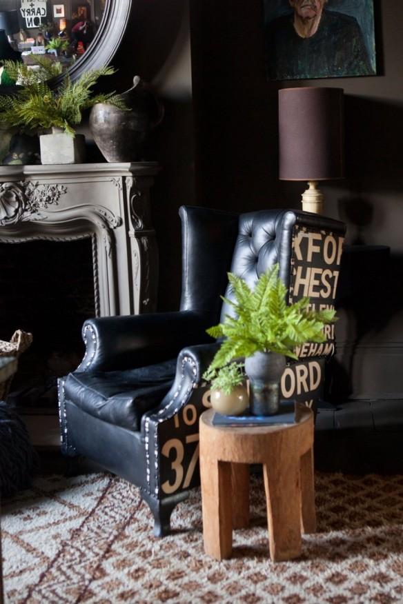 L'intérieur de la designer Abigail Ahern à Londres