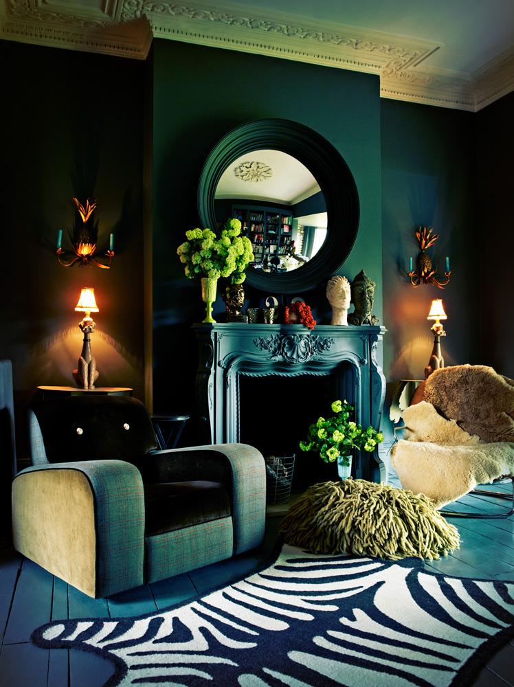 Abigail Ahern interior || Photo : Graham Atkins Hughes