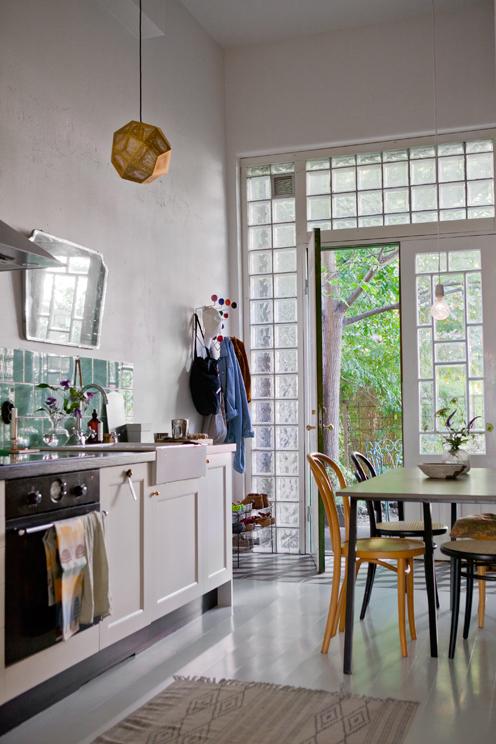 La maison d'Anna Cate près de Göteborg