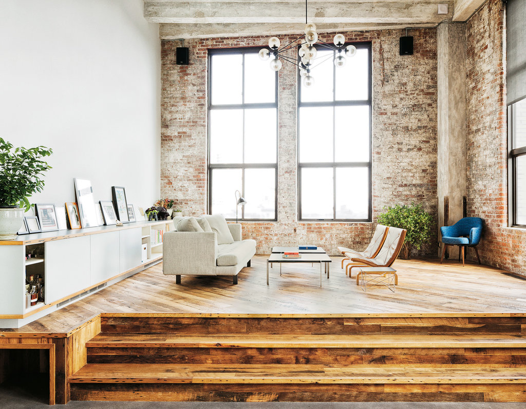 David Karp loft - Brooklyn || NY Times - Photo : Ben Hoffmann
