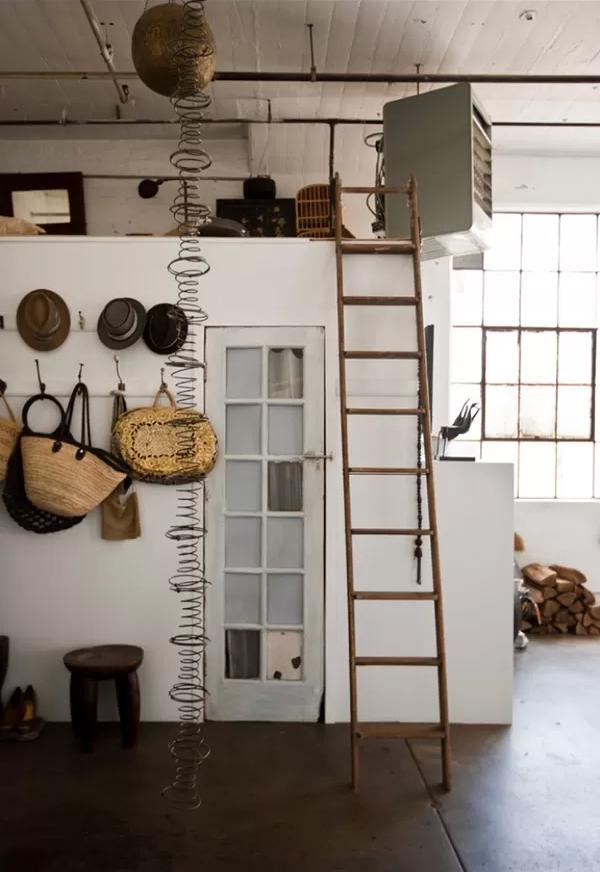 vivre dans un loft un vrai. Black Bedroom Furniture Sets. Home Design Ideas