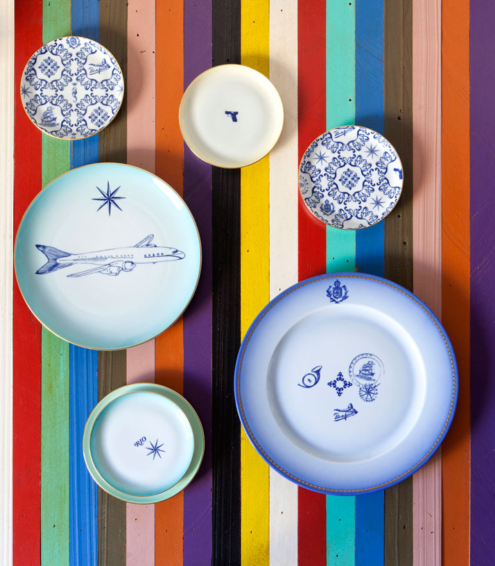 Collection Transatlântica pour Vista Alegre - Design Brunno Jahara