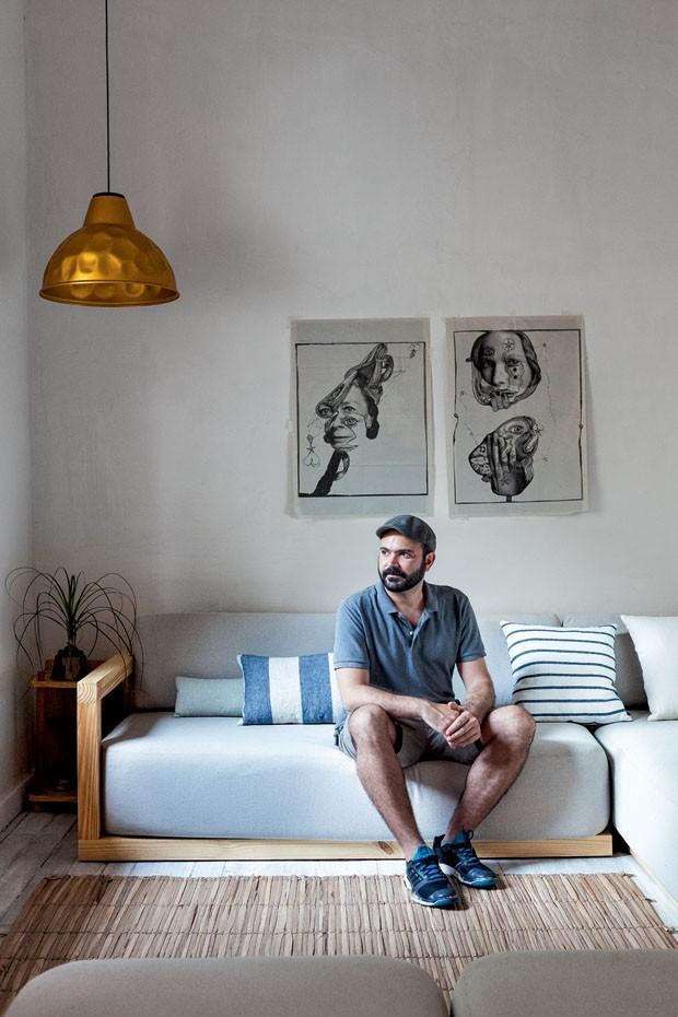 La maison du designer brésilien Bruno Jahara