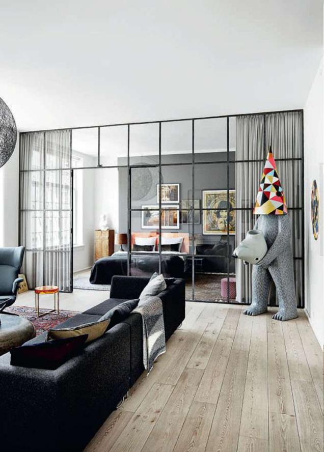 L 39 appartement boh me et arty de jon oron copenhague for Interieur hygge