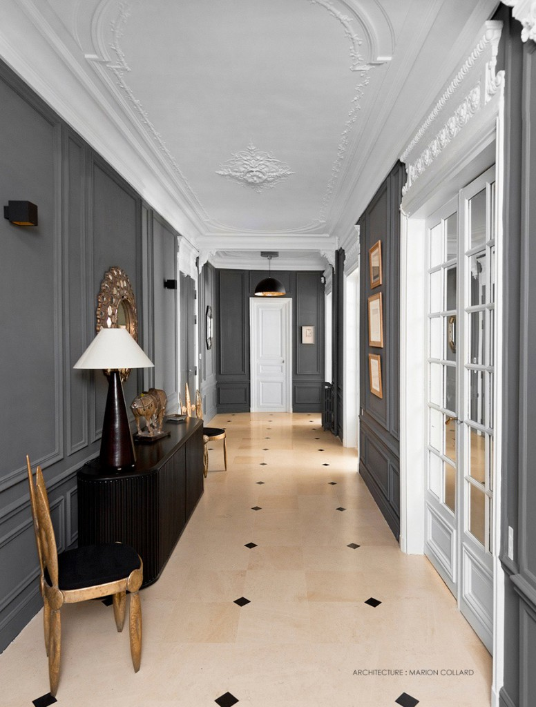 Booster le style haussmannien par marion collard - Decoration appartement haussmannien ...