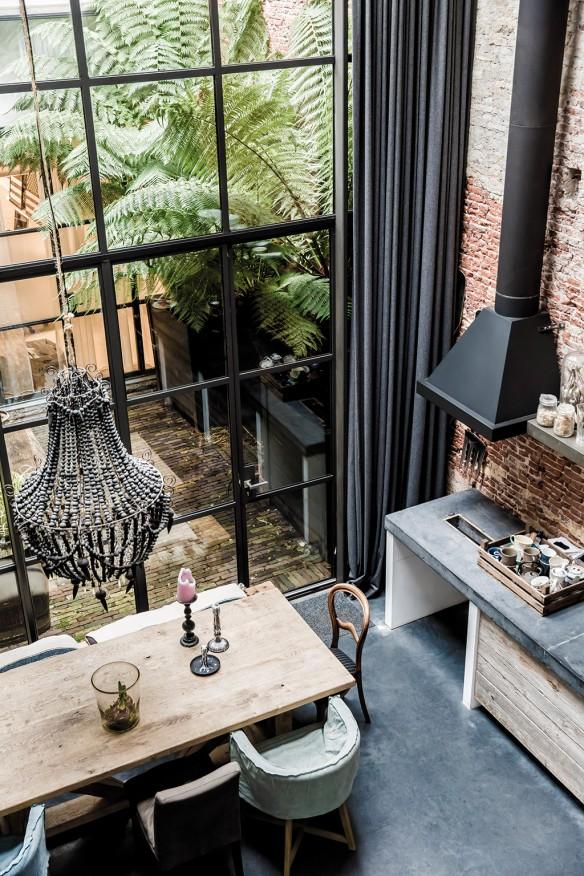 Le loft d'Emily et Marius Haverkamp à Amsterdam