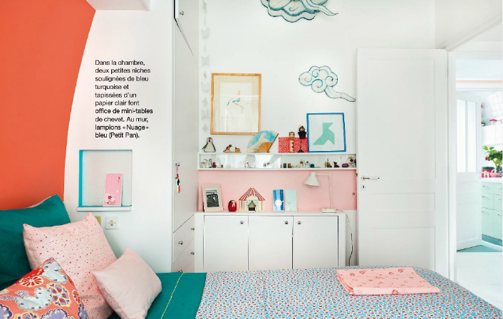 L'appartement d'Adeline Klam à Paris - Maison créative magazine