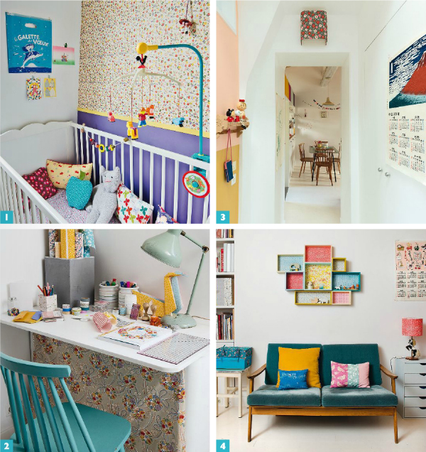 L'appartement d'Adeline Klam à Paris - Maison créative magazine