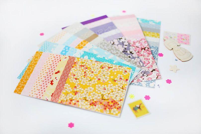 Papier japonais d'Adeline Klam