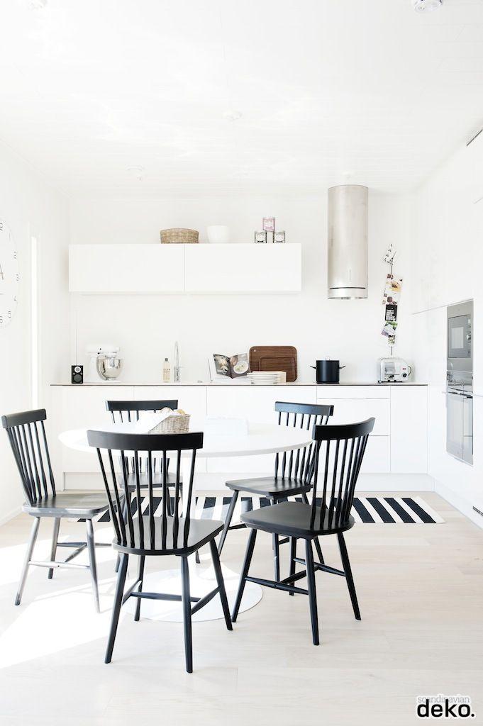 Idée déco : une cuisine blanche