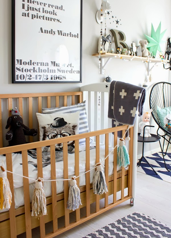 Chambres d 39 enfants de style scandinave par penelope home for Decoration chambre bebe blog