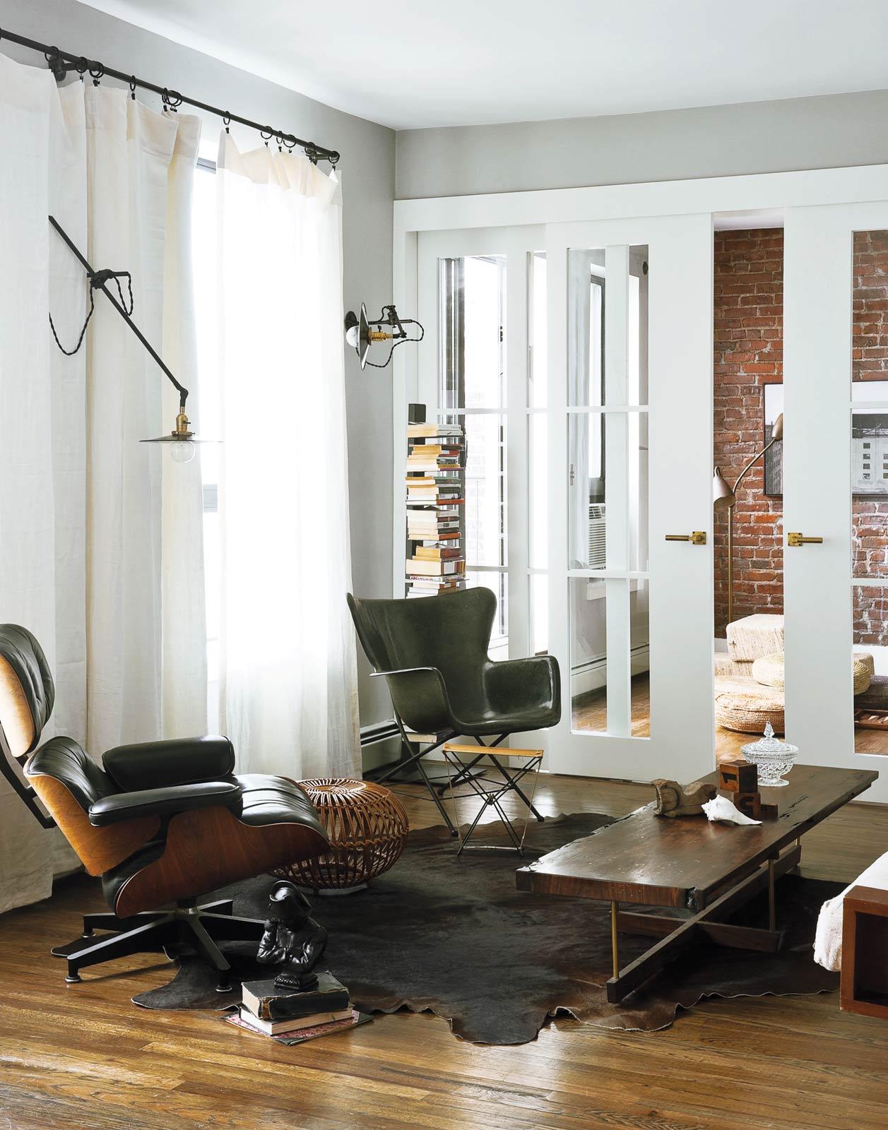Brooklyn appartement - Cuisine Top Brass par le cabinet d'architectes Workstead