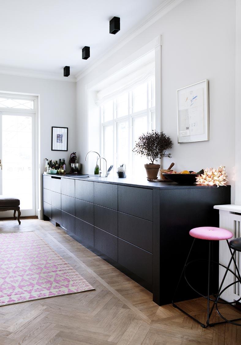 Une cuisine ouverte sur le séjour