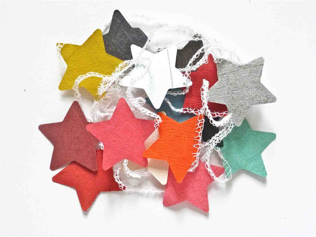 Sophie Cuvelier Guirlande Petites étoiles