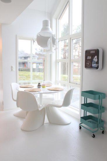Le blanc est-il un concept ? || La maison blanc immaculé de Julie Hole home, alias Stylismo