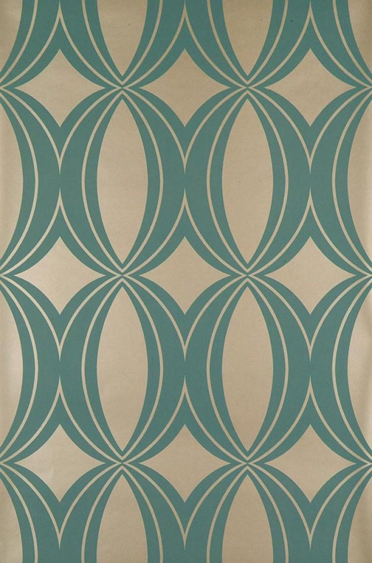 Papier-peint géométrique