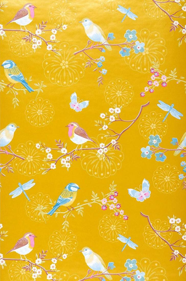 Idee Deco Du Papier Peint A Fleurs Turbulences Deco