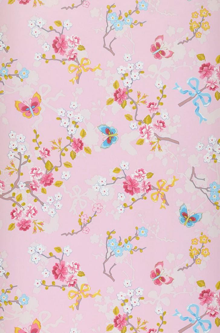 Id e deco du papier peint fleurs - Deco printempsidees avec fleurs et motif floral ...