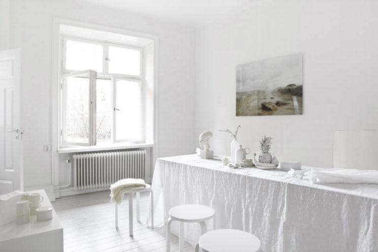 Le blanc est-il un concept ? || Un appartement blanc immaculé par Fantastic Frank