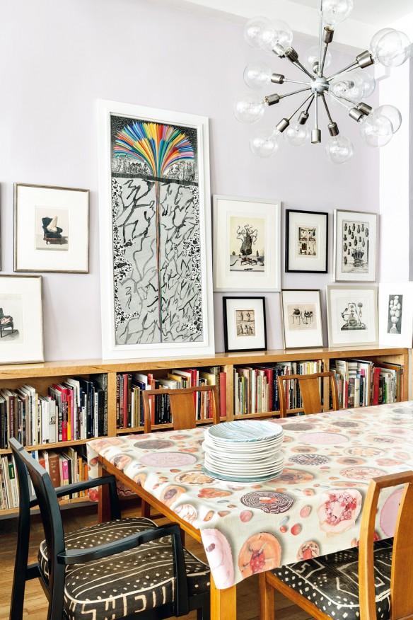 Dans l'antre de l'artiste Ruth Marten à New-York