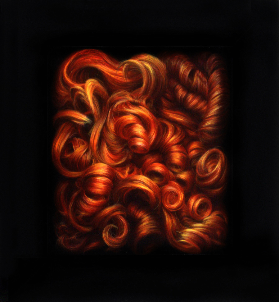 Ruth Marten art - Fire
