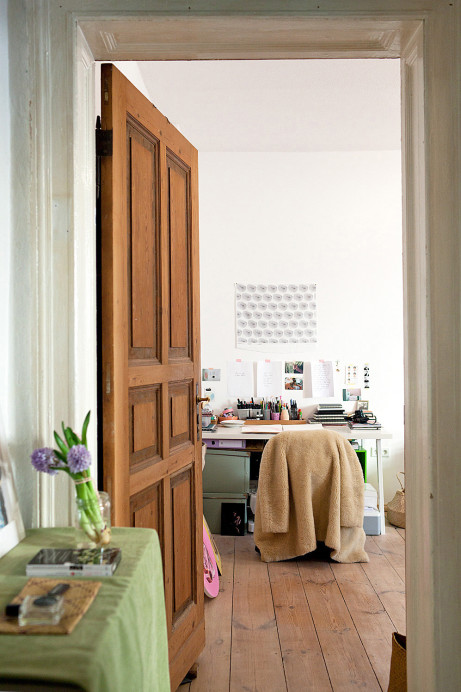Johanna Tagada and Jatinder Durhailay Berlin studio apartment