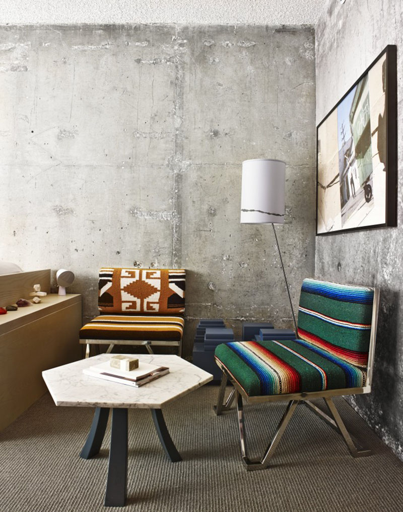 The line hotel los angeles ambiance brute et coolissime for Design hotels la