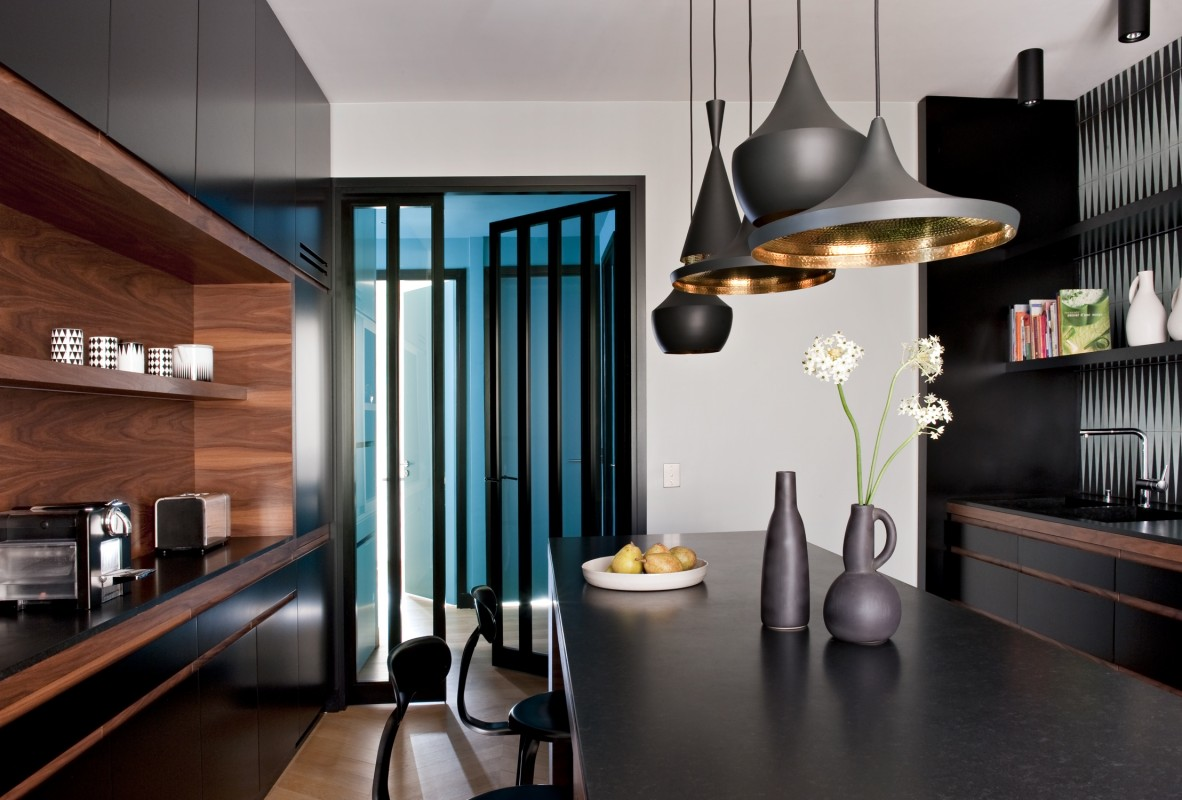 Ambiance bleut e par l 39 agence double g for Double salon deco