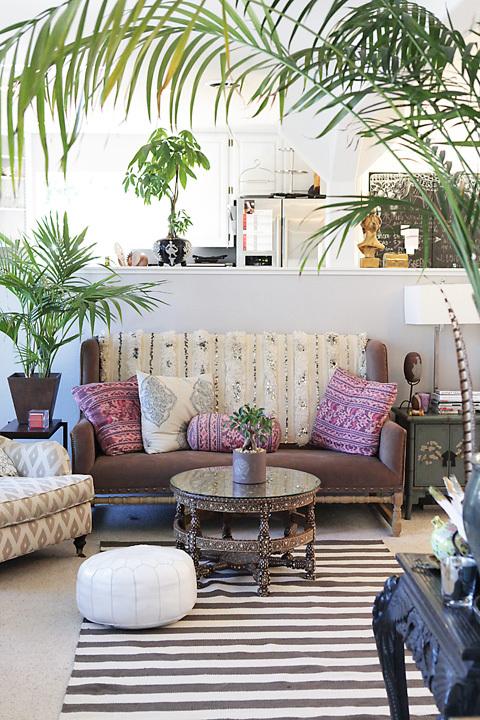 Donner des airs de jardin tropical à son intérieur | Anahata Katkin interior