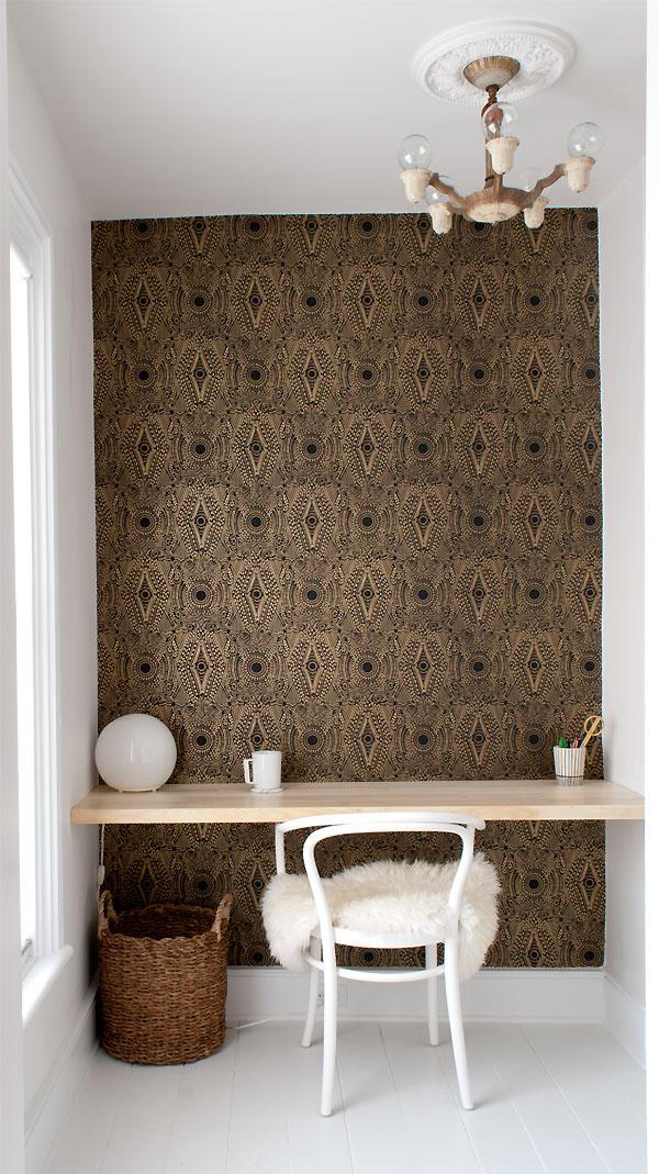id es d co du papier peint baroque et glamour. Black Bedroom Furniture Sets. Home Design Ideas