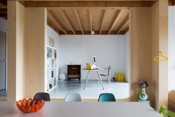 Une maison contemporaine et familiale par les architectes de BLAF