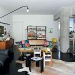 Un appartement vintage à la décoration informelle et chic