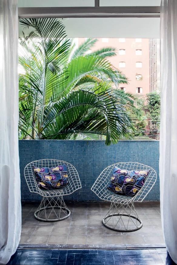 Un appartement vintage à São Paulo, rénové par l'architecte Felipe Hess