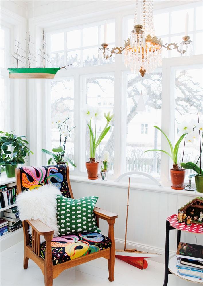 Donner des airs de jardin tropical à son intérieur | Intérieur scandinave avec des plantes