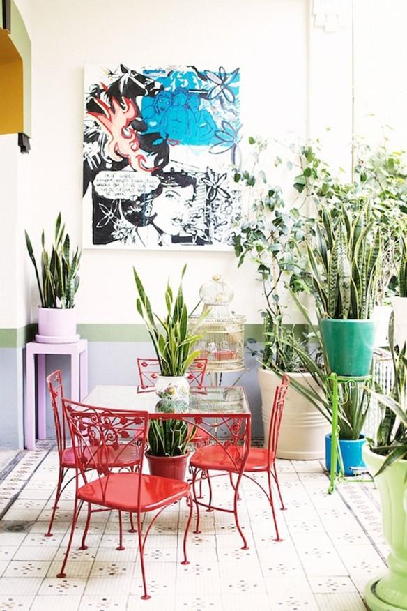 Donner des airs de jardin tropical son int rieur for Decoration jardin tropical